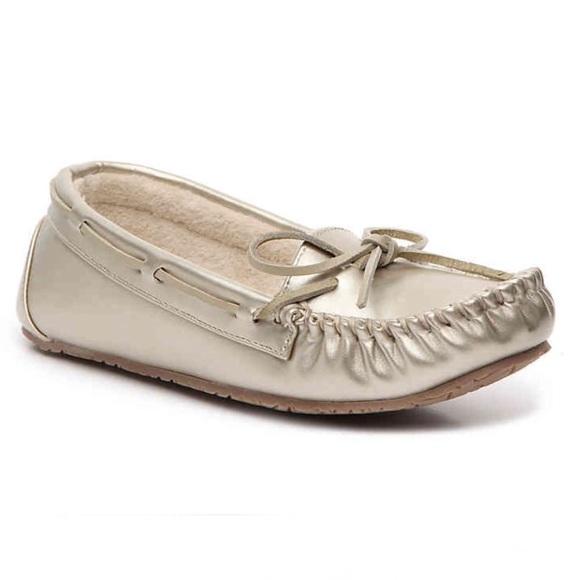 415c8eb97623 Minnetonka Junior Trapper Moccasin Slipper Shoes 7